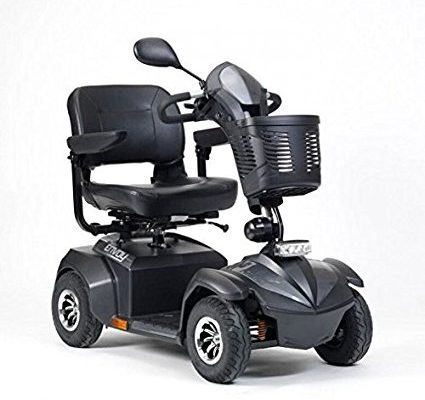 Drive Envoy 4 4mph 4 wheel drive heavy duty long range mobility scooter